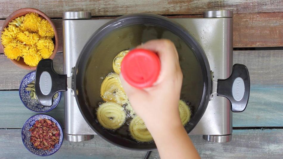 Jalebi Cooking Steps