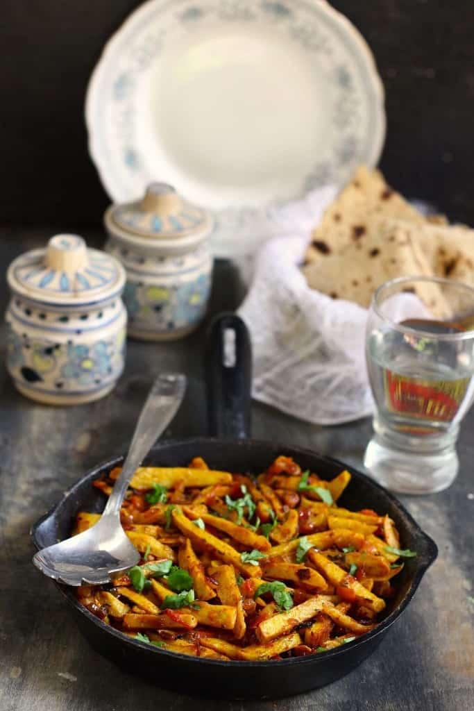 Punjabi Arbi Fry