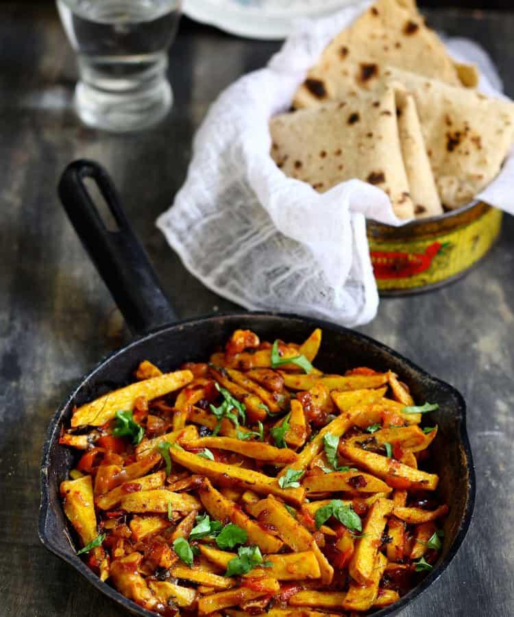 Punjabi Arbi Masala
