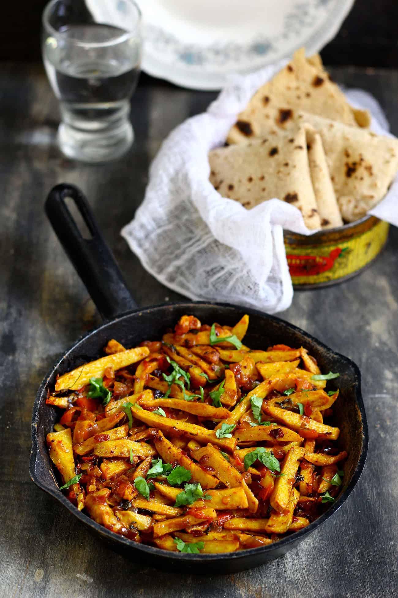 Punjabi Arbi Masala Recipe | How To Make ArbiFry