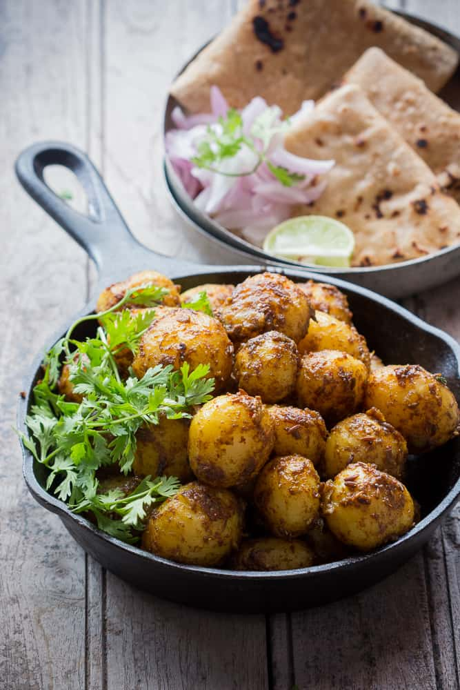 Best Indian food recipes: Bombay style masala aloo.