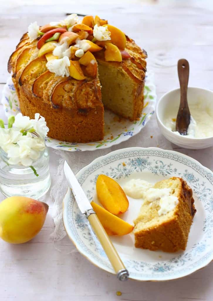 This Apricot Cake Recipe is the best one to make with fresh apricots. Fresh Apricot Cake is hard to give a miss when apricots are in season.