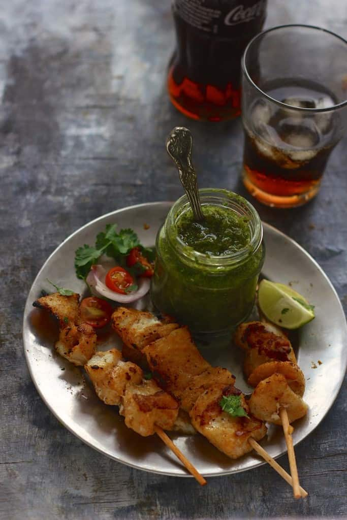 If you've got a bbq coming up or are just looking for an excuse to fire up the grill, try this Fish Tikka Recipe.