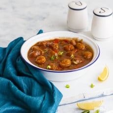 my woman nurture would laid upwards a large casserole total of  Soya Manchurian Recipe