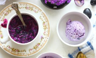Homemade frozen yogurt tastes better than anything you can buy at a fro-yo shop, and all it takes is two ingredients. Try this Jamun Yogurt Recipe this summer