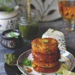 Corn and Paneer Tikki Recipe (Video Recipe)