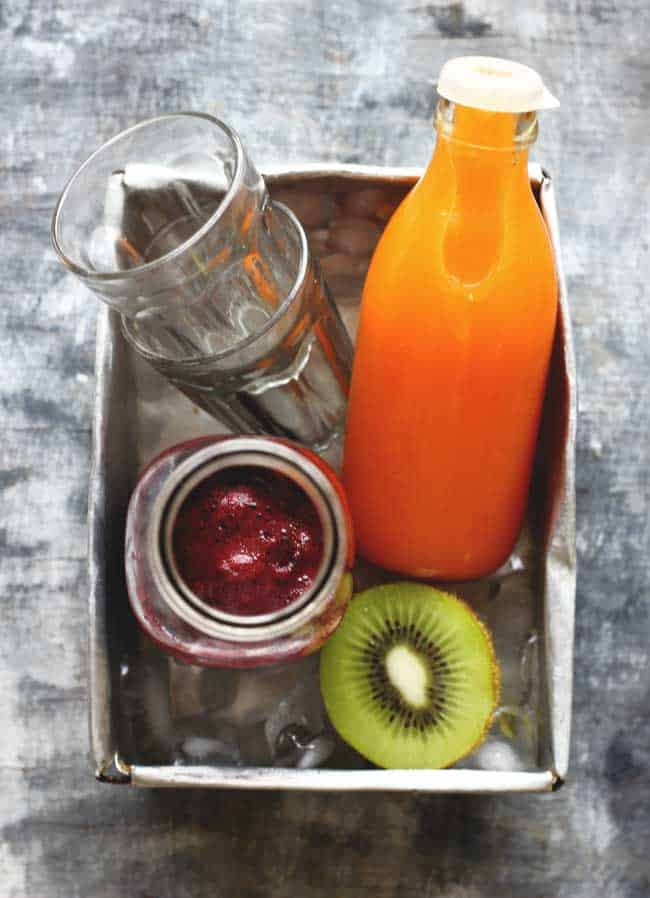 Classic Carrot Apple Juice has clean and refreshing flavors. And the best part - it is cold pressed. You will surely get hooked to this recipe.