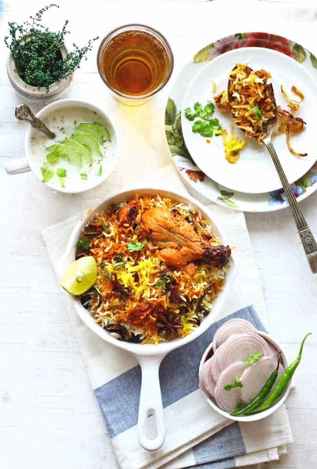 Who doesn't love a good, delicious homemade Chicken Biryani for lunch? Learn how to make leftover chicken biryani in few minutes.