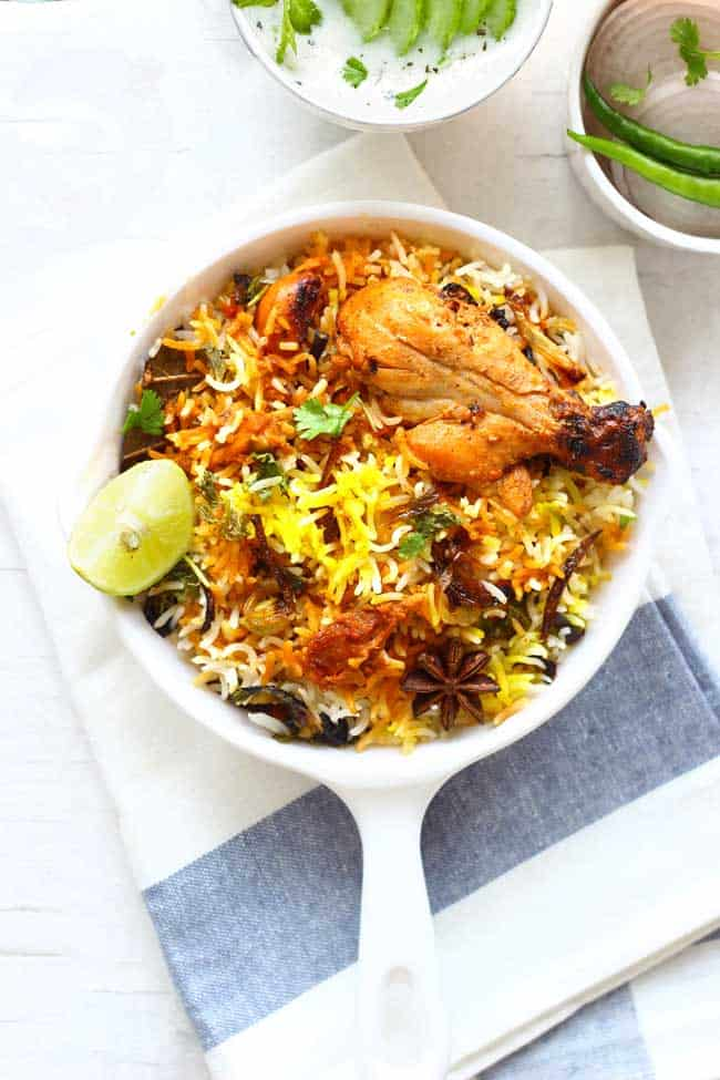 How to make leftover chicken biryani fun food and frolic for Chicken biryani at home