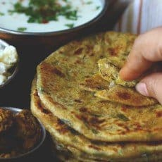 The regular aloo paratha is likewise ho-hum for me Aloo Methi Paratha Recipe
