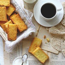 s transportation service is extra exceptional equally it features non exclusively a cookie recipe but my all Cake Rusk Recipe (How to Make Cake Rusk)