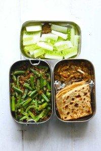 Baingan Bharta, Beans Stir Fry