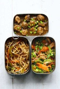 Soya Manchurian, Hakka Noodles, Chicken Stir Fry
