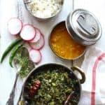 Pahadi Lai Ki Sabzi (Mustard Green Stir-Fry)