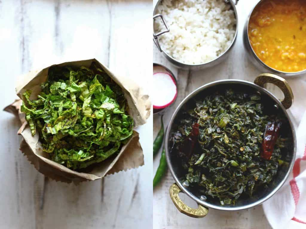 Pahadi Lai Ki Sabzi is the simple stir-fry of a local variety of mustard greens. Find how to make Pahadi Lai Ki Sabzi Recipe in few simple steps