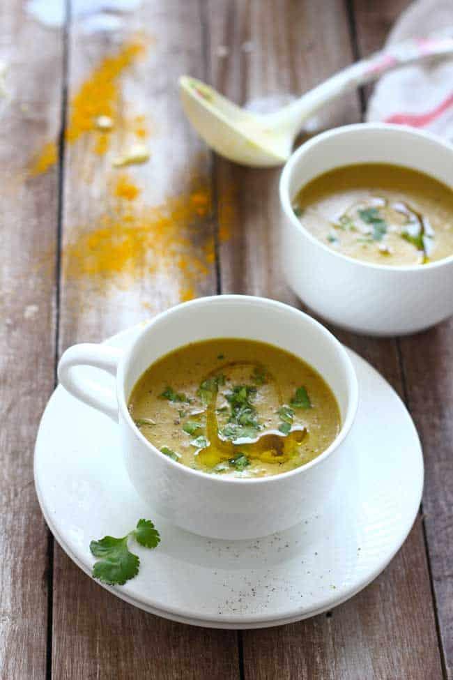 is an English linguistic communication soup recipe amongst origins inwards Indian cuisine Mulligatawny Soup Recipe