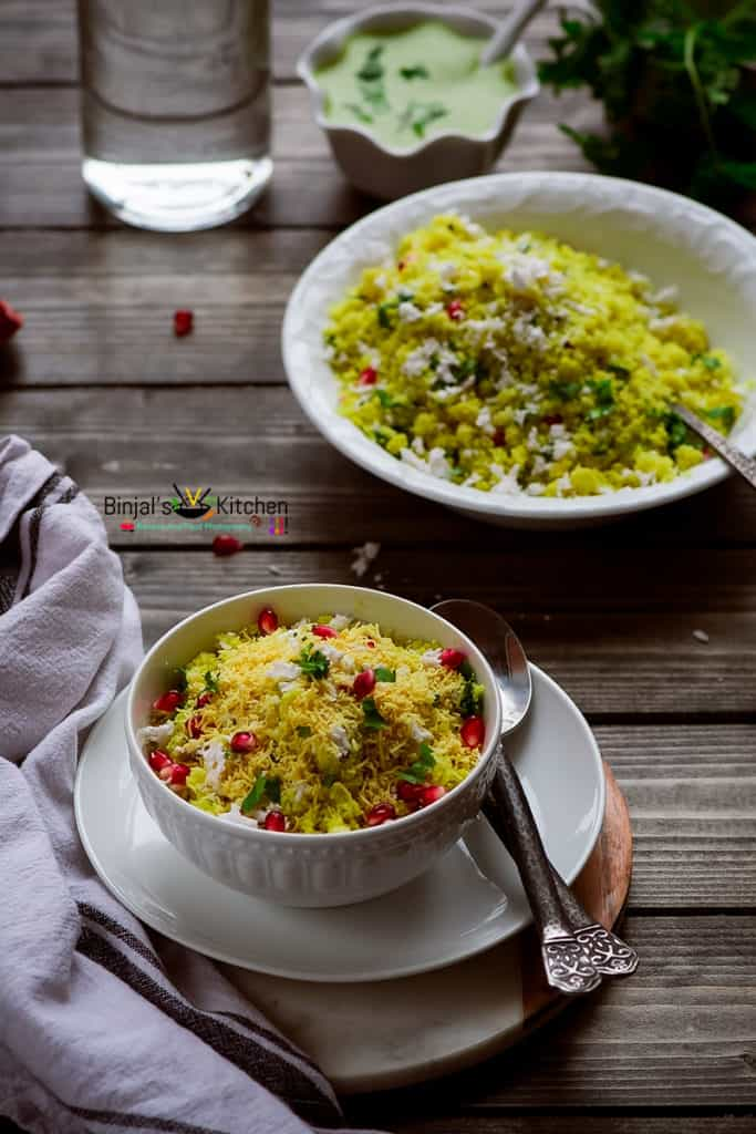 Sev Khamani Recipe is a typical Gujarati snack from Surat region (that's why it's called surti sev khamani). Very delicious, perfect for any occasion.