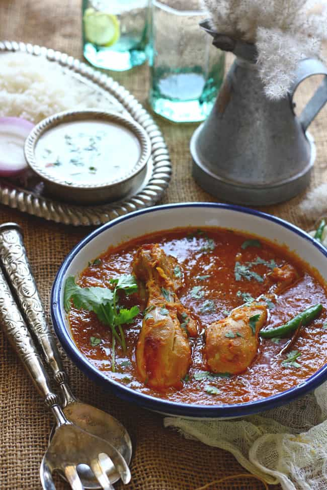 Chicken Curry Recipe, How to Make Indian Chicken Curry ...