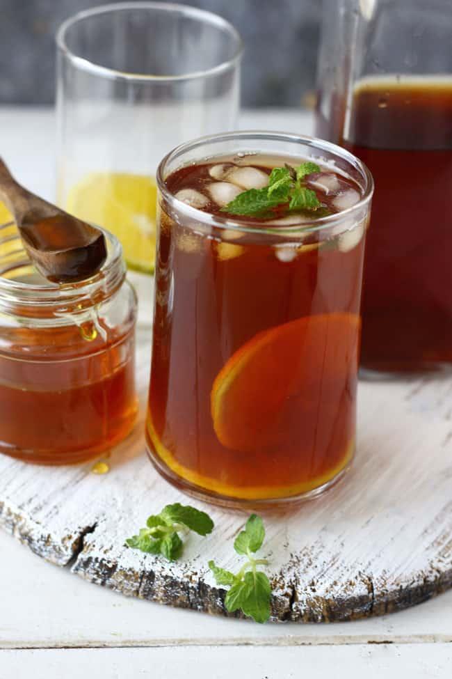 Easy Lemon Iced Tea