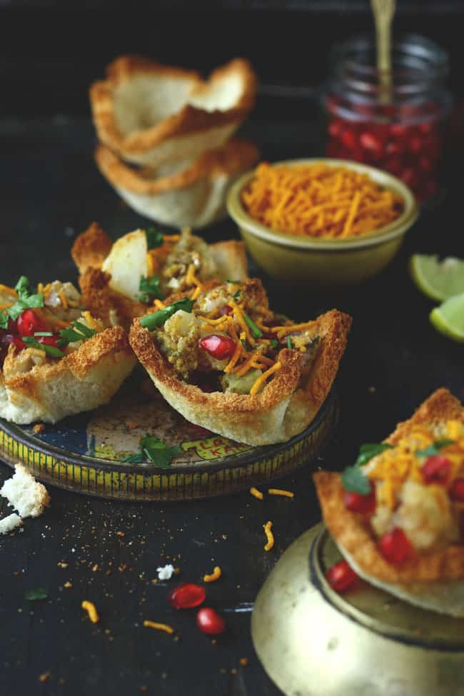 how to make Bread Basket Chaat