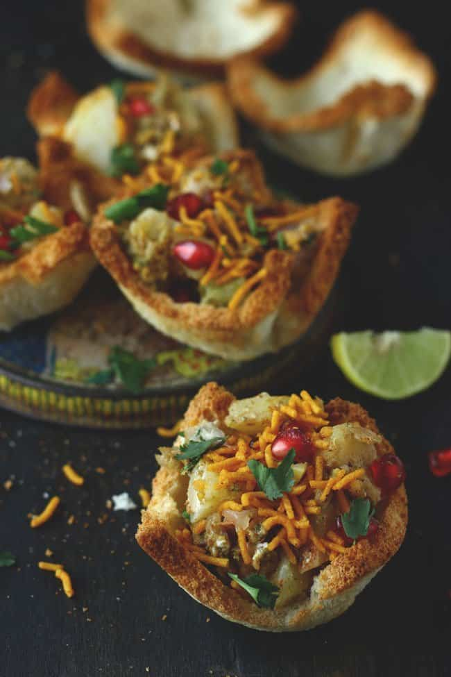 Bread Basket Chaat recipe