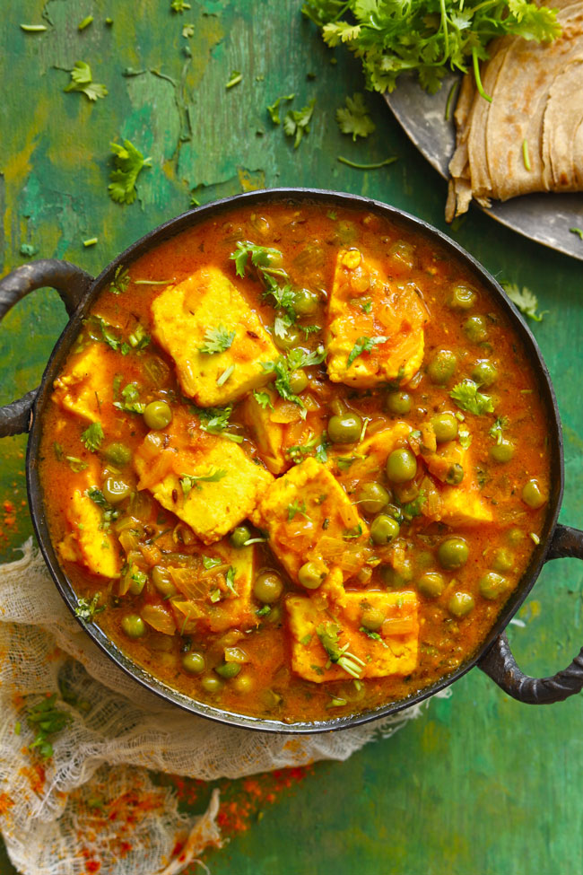 A delicious gluten-free Indian paneer curry