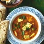Punjabi Matar Paneer Recipe