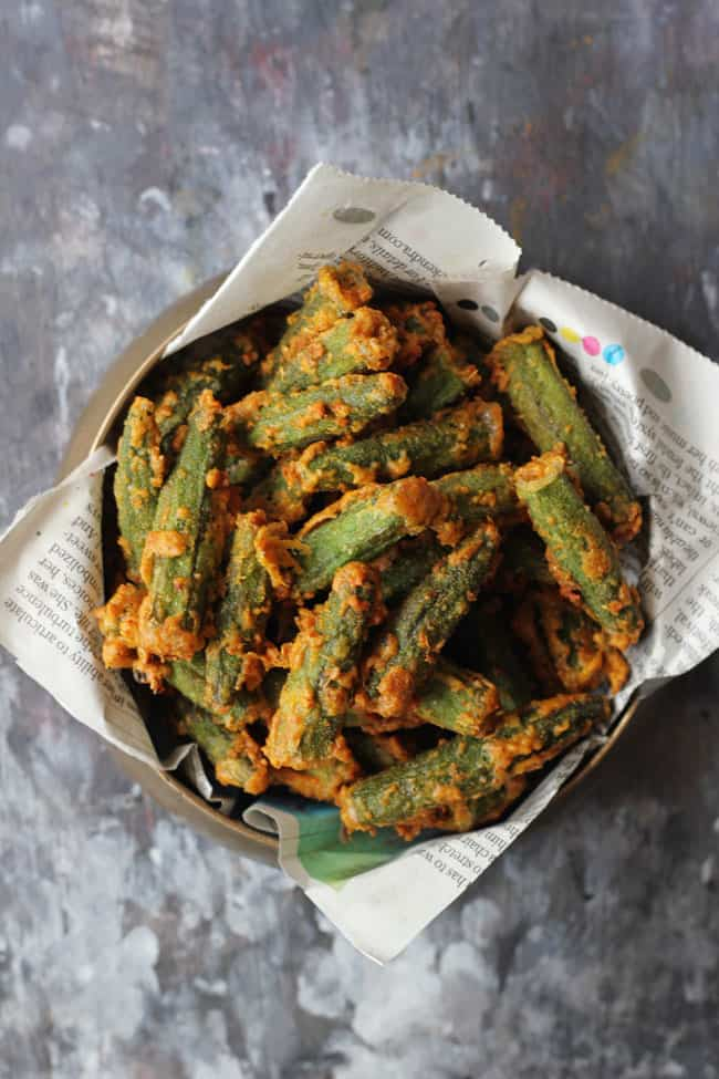 Besan Bhindi Fry is truly a delicious Indian side-dish with a lot of crunch to it. Find how to make Besan Bhindi Fry in few simple steps