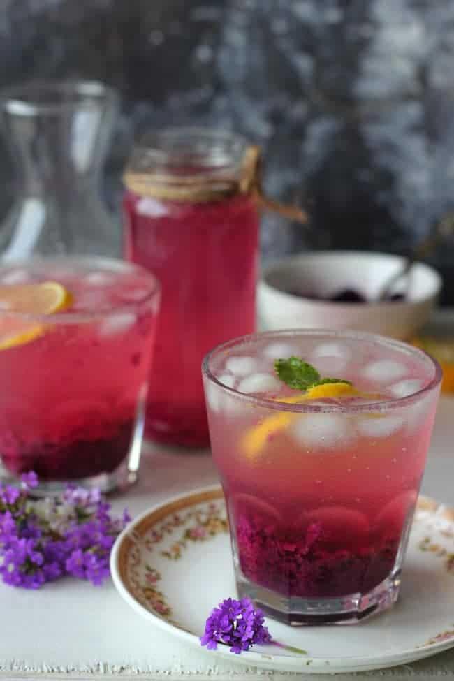 Easy Jamun Masala Soda