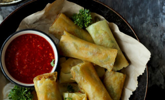 Want to know the secret behind my popular Veg Spring Roll? It is the light and super easy vermicelli stuffing. Find how to make veg spring roll