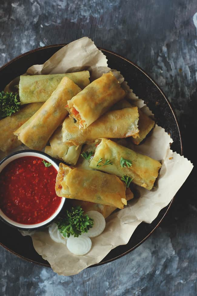 indian chinese vegetarian recipes