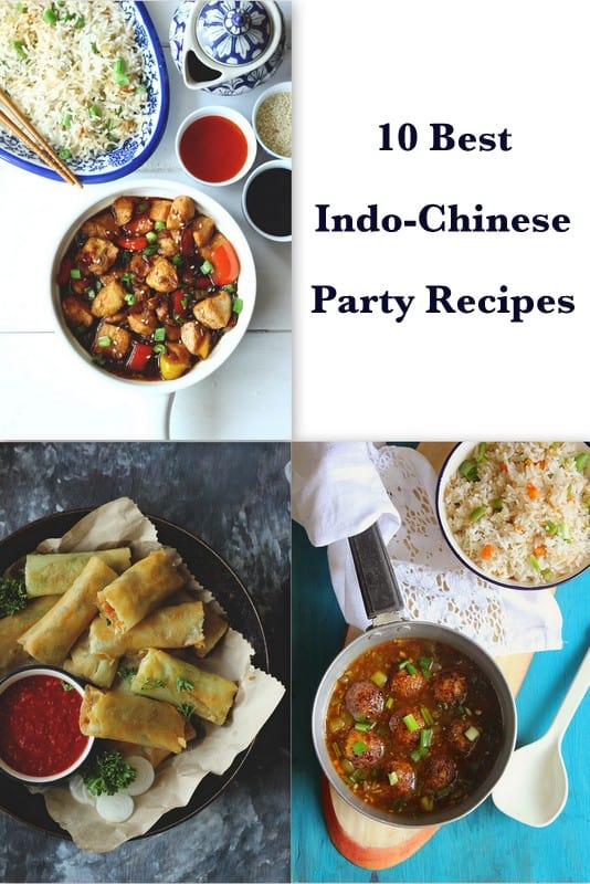 Indo Chinese Party Recipes