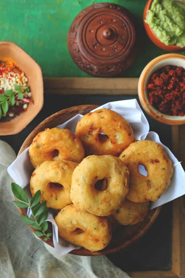 South Indian Medu Vada Sambar