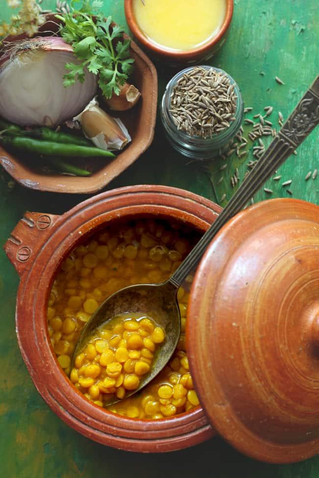 Palak Chana Dal