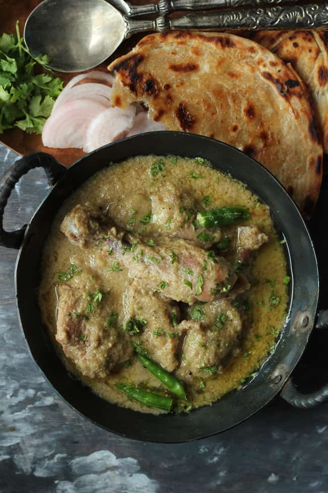 how to make korma sauce thicker