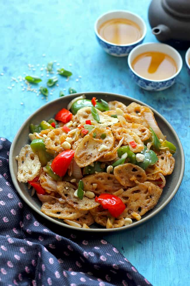 Lotus Stem Stir Fry