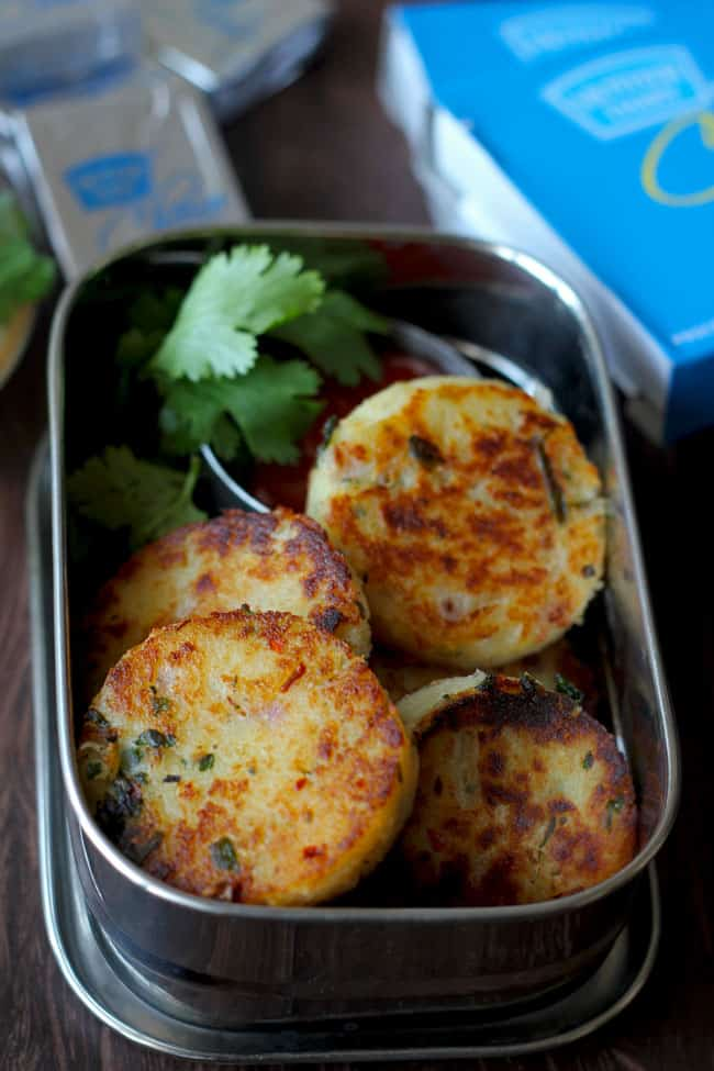 Best Indian Food Recipes : Cheese Rava Cutlet
