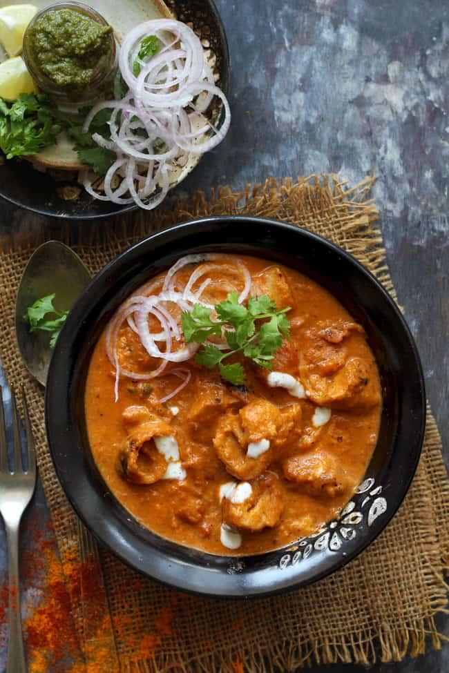 Soya Chaap Tikka Masala   Indian Vegetarian Recipes