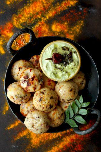 Instant Rava Paniyaram Recipe