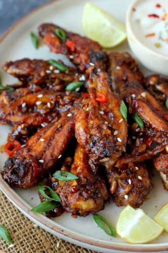 This hot sauce chicken wings recipe is certainly one of those easy chicken recipes that you want to bookmark for the parties.