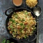 Easy Matar Poha Recipe
