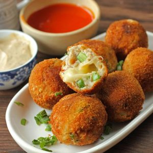 Best Chicken Cheese Balls