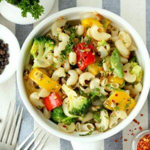 Stir Fry Pasta With Vegetables