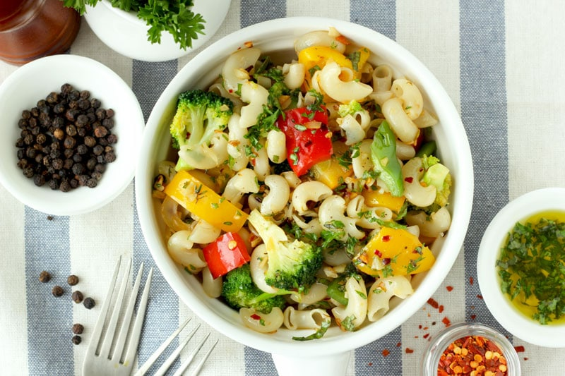 Stir Fry Pasta With Vegetables
