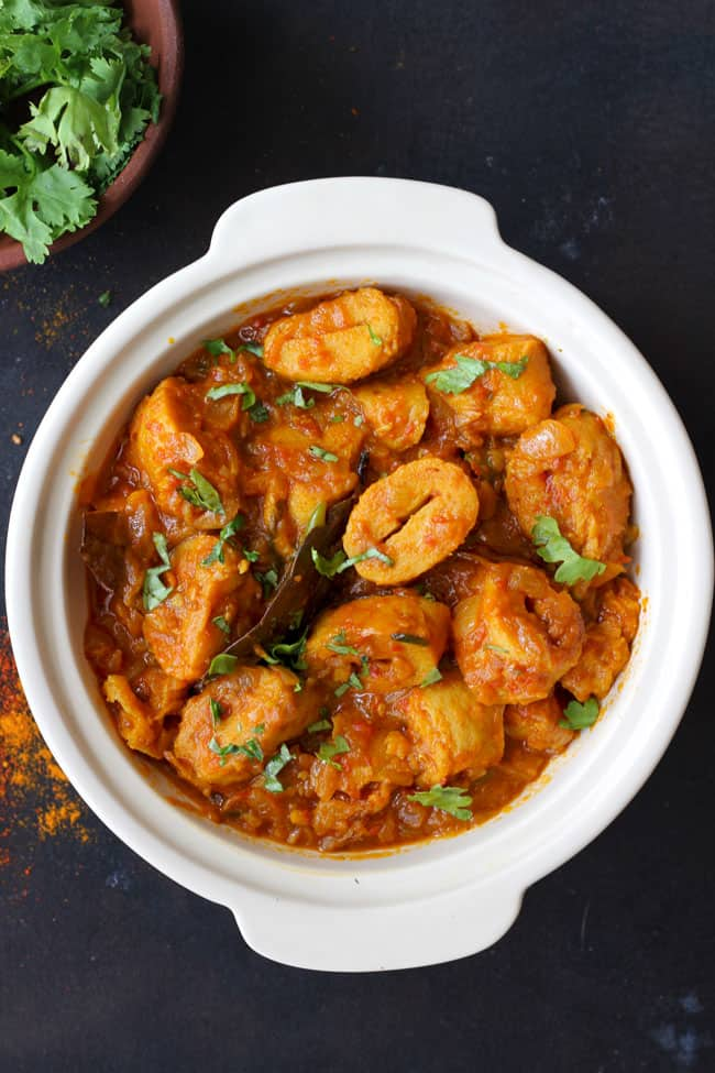 Punjabi Soya Chaap Recipe