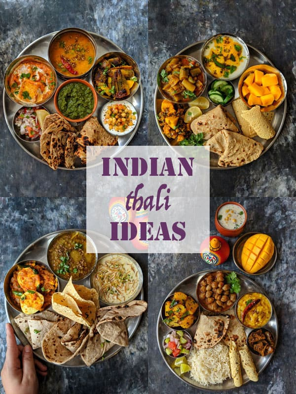 10 Indian Thali Meal Ideas | Indian Food Recipes - Fun FOOD and Frolic