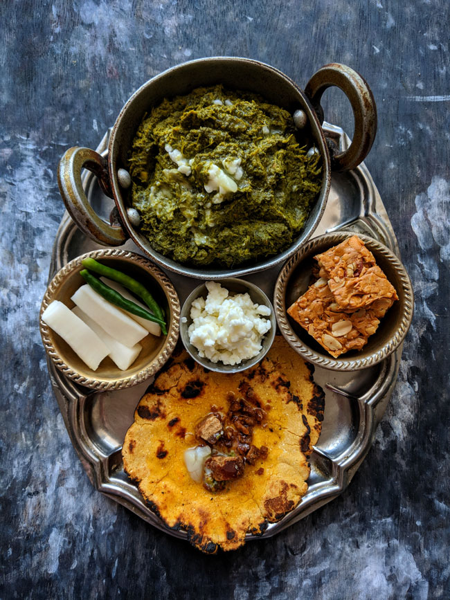 winter comfort food from India