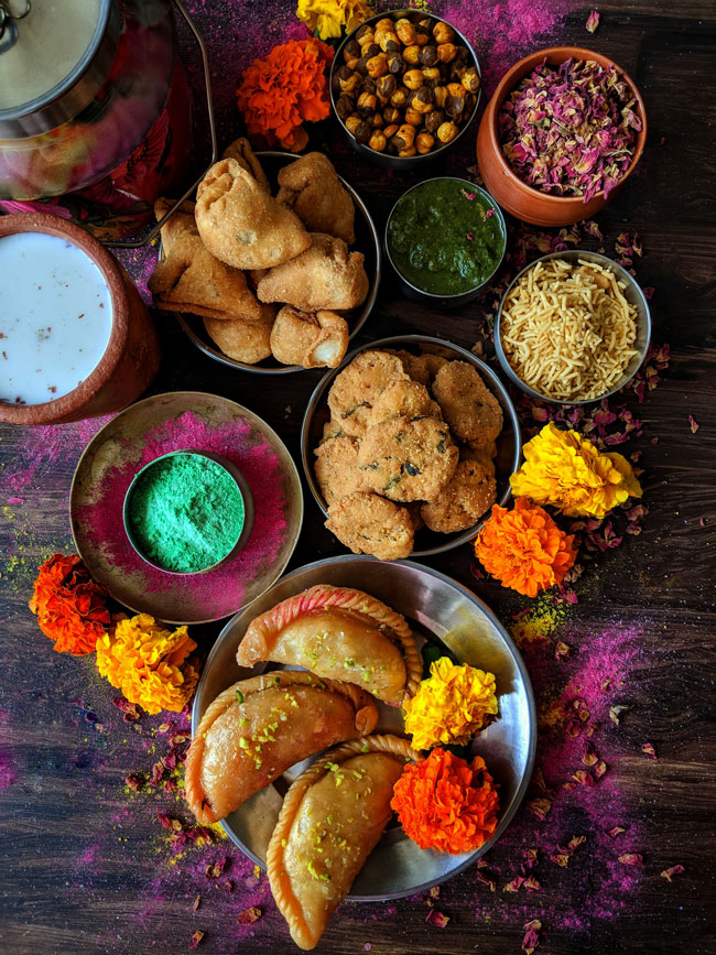 collection of 40+ Holi recipes