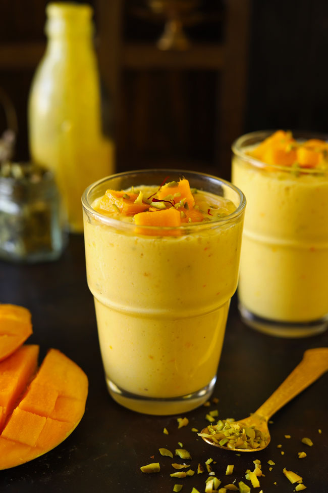 Easy Indian Mango Lassi Recipe