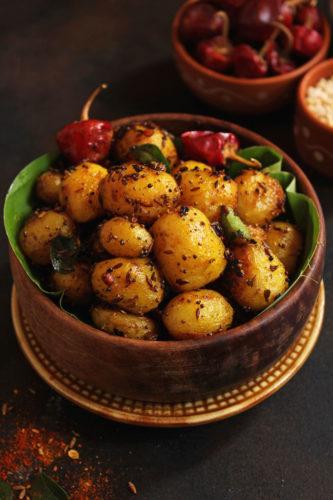 Masala Baby Potato Roast